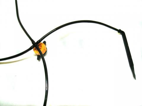 Трубка ПВХ чёрная, для капельницы