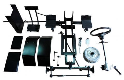 Комплект для переоборудования мотоблока в мототрактор №3 (механическая тормозная система)