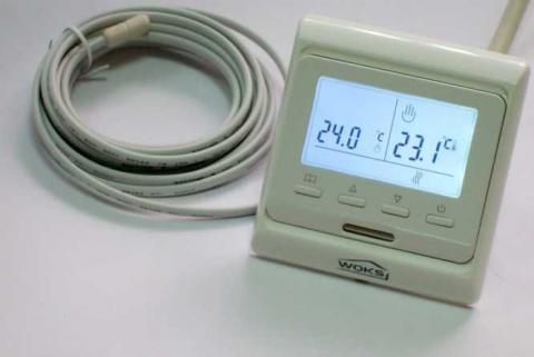 Кнопочный программируемый терморегулятор M-6.716