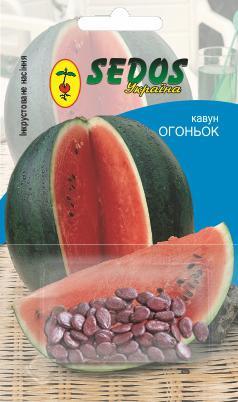 Арбуз Огонек (1,5г инкрустированных семян) -SEDOS