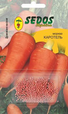 Морковь Каротель (400 дражированных семян)