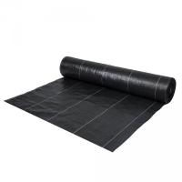 Агроткань чёрная, плотность 135г/м.кв, размер 0,8х100м - Bradas