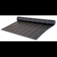 Агроткань чёрная UV, плотность 90г/м.кв, размер 0,8х100м - Bradas
