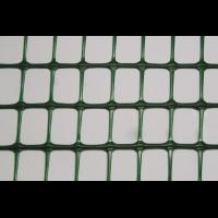 Декоративное ограждение зеленое, размер: ячейки 42х42 мм, рулона 30х1 м - Италия