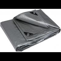 Тент серый усиленный 150 г/м², размер: 3х5 м