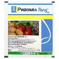 Ридоміл Голд 50г (манкоцеб, 640 г/кг+ металаксил-М, 40 г/кг)- Syngenta
