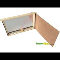 Заставная рамка для обогрева улья