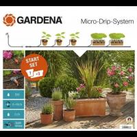 Комплект микрокапельного полива Micro-Drip-System базовый - Gardena