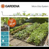 Комплект микрокапельного полива Micro-Drip-System для клумб и грядок - Gardena