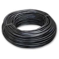Трубка ПВХ чёрная, 4,0 х 1,5 мм для микрополива, бухта 100 м