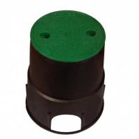 Круглый бокс mini Дв х Дн х В = 160 х 200 х 230 мм - Irritec, Италия