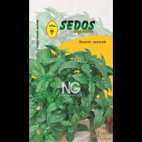 Базилик зелёный (0,5гр инкрустированных семян) -SEDOS