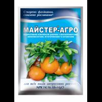 Удобрение для всех видов цитрусовых 25 г - Мастер-Агро