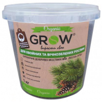 Grow (Multimix bio) для хвойных и вечнозеленых растений 1 кг