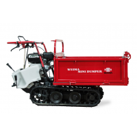 Мотоблок бензиновый WM7B-320A MINI TRANSFER, (тележка гусеничная) - WEIMA