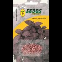 Базилик Фиолетовый (0,5г инкрустированных семян) -SEDOS