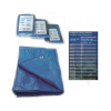 Тент водонепрницаемый синий 60 г/м²