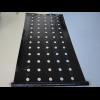 Плёнка мульчирующая черная с перфорацией 30х25см, размер 1000х1,2 м, толщина 25 микр - Израиль