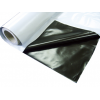 Плёнка мульчирующая чёрно-серебристая, размер 1000х1,2 м, толщина 25 микр - Израиль