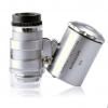 Карманный микроскоп 60х с подсветкой