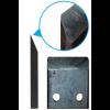 Измельчитель веток с приводом от бензинового двигателя (односторонняя заточка)