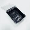 Контейнер для микрозелени с крышкой чёрный (1шт)
