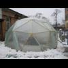 "Теплица купольная ""Солнечная"", диаметр 5м"