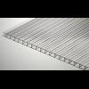 Сотовый поликарбонат Soton 8 мм, размер листа 2100х12000 мм, прозрачный