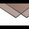 Монолитный поликарбонат Soton 10 мм, размер листа 2050х3050 мм, бронзовый