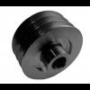 Шкив для двигателя на вал 25мм,  диам 76 мм, 3 ручья тип В