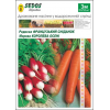 Морковь Королева Осени + Редис Французский завтрак (50/50 дражированных семян на 3м) -SEDOS